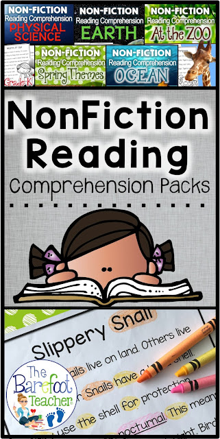 Help your Kindergarten students develop confidence in their reading comprehension abilities while learning about spring at the same time! This free download will go right along with the other Spring activities and crafts you have planned for your class. The strategies used with these worksheets will feel more like playing you are playing games with your student than it will reading!