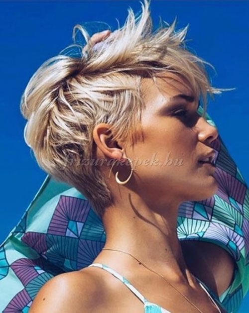 pixie cut pictures 2019