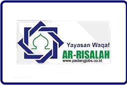 Lowongan Kerja Padang: Yayasan Waqaf Ar-Risalah September 2018