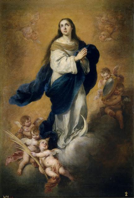 La Inmaculada Concepción  - Bartolomé Esteban Murillo - Museo del Prado, MADRID