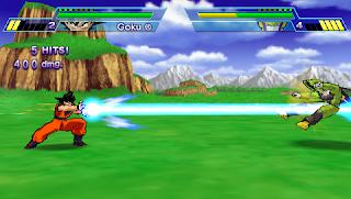 Dragon Ball Z Shin Budokai ISO PSP
