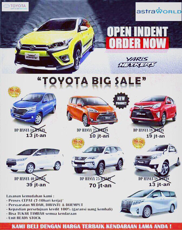 Toyota Auto 2000 Pasar Kemis Tangerang