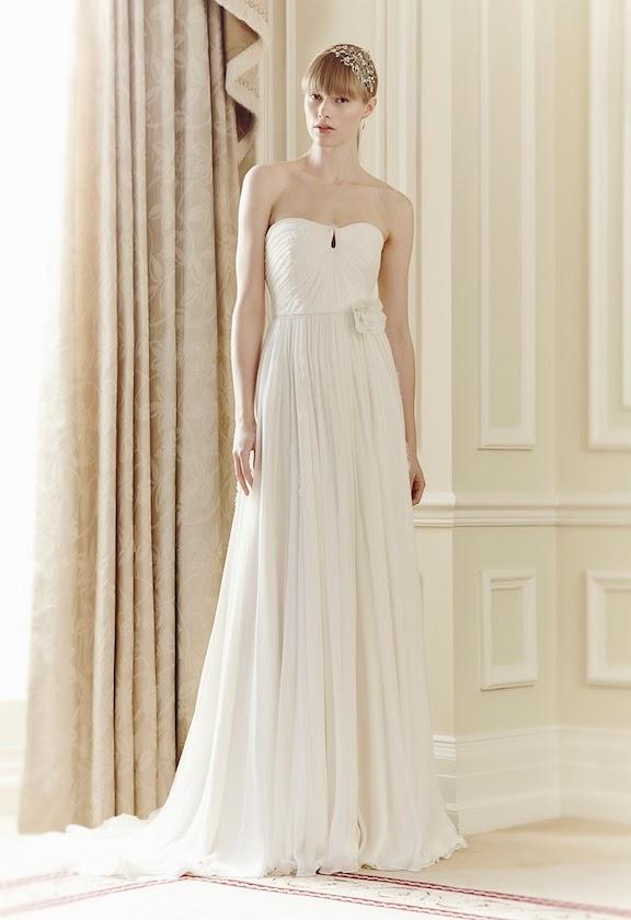 vestiti da sposa Jenny Packham 2014 e idee per le nozze a tema