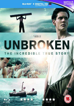 Unbroken 2014 BluRay 400MB Hindi Dual Audio 480p ESub Watch Online Full Movie Download bolly4u
