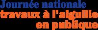 Journée nationale travaux à l'aiguille en publique graphic image