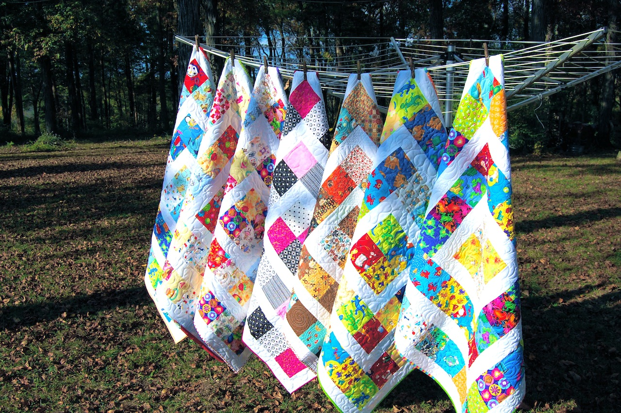 Confessions Of A Fabric Addict 100 Quilts For Kids