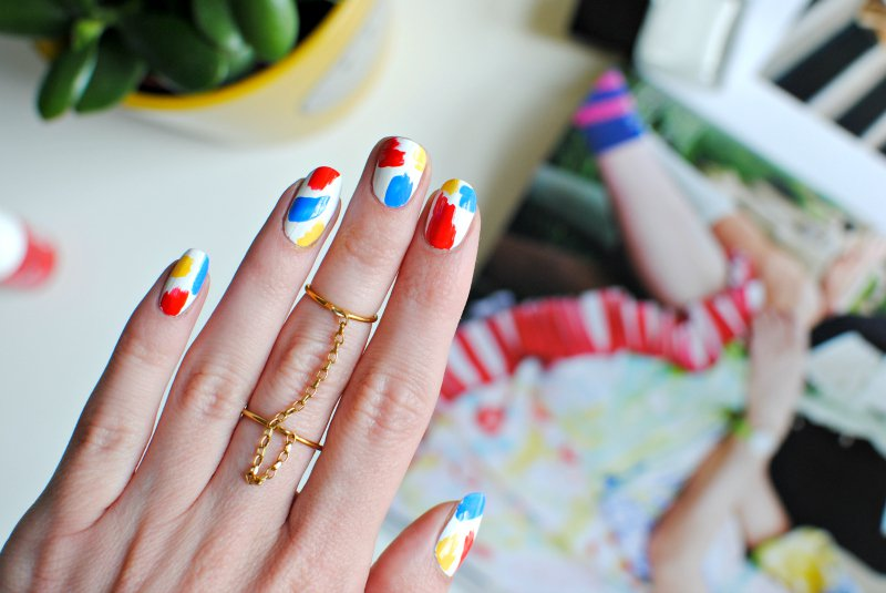 Nails Pop Art Nail Art Tutorial Burkatron