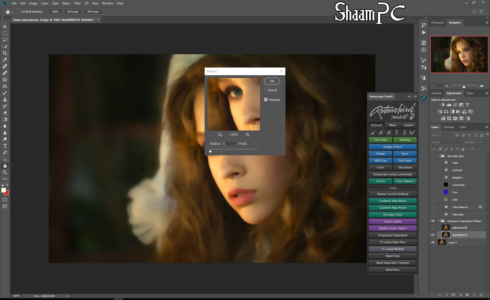 Retouching Toolkit 2 0 1 for Adobe Photoshop Free Download