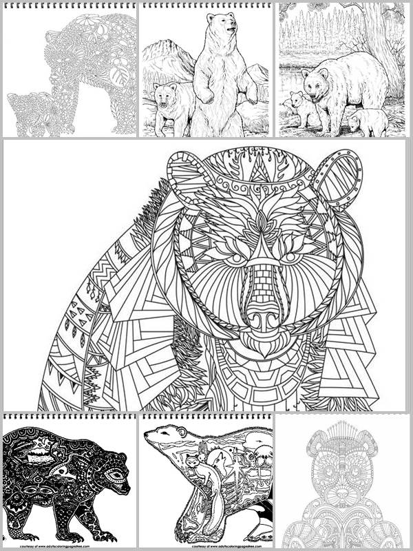 Adults Coloring Pages Free