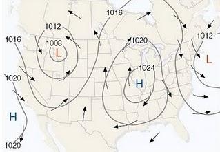 Cara Baca Peta Cuaca