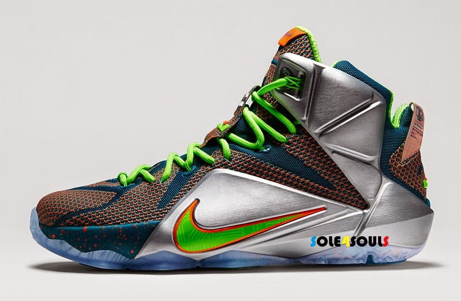 1fd139dda436 Sole4Souls   Nike LeBron 12 PRM Trillion Dollar Man