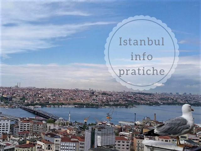 Istanbul: informazioni pratiche. vista dalla torre di galata