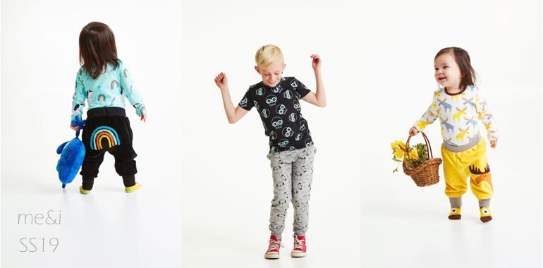 me&i ss19 mallisto lasten vaatteet