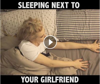 Sleeping Next To Your Girlfriend.