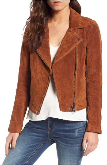 Autumn/Winter fashion staple from Nordstrom Anniversary sale biker jacket