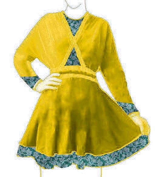 konveksi seragam batik Sketsa Baju Kerja