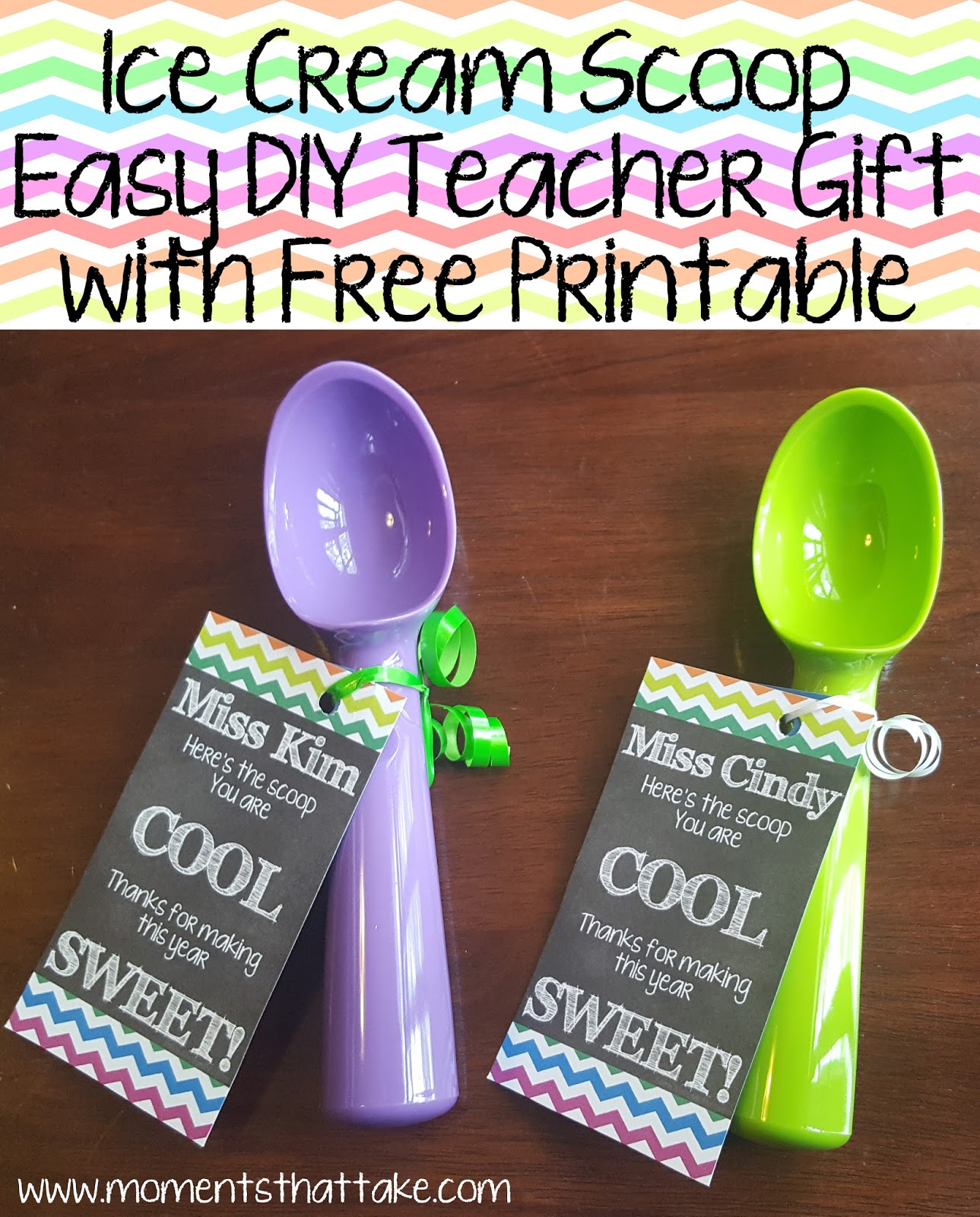 Moments That Take My Breath Away Ice Cream Scoop Easy Diy Teacher