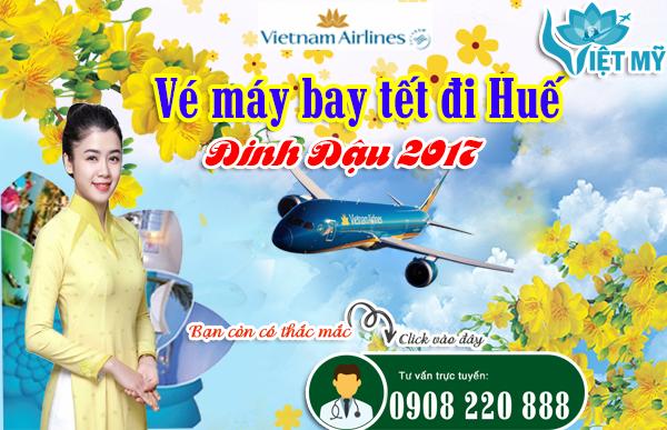 Vietnam Airlines tăng cường vé máy bay tết đi Huế Đinh Dậu 2017