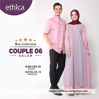 baju lebaran keluarga muslim