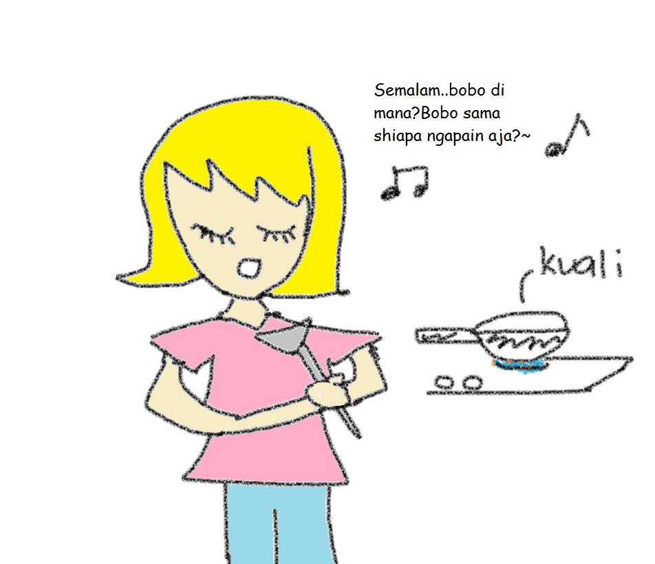 Time Tu Semua Anak Dara Mesti Takut Dan Berikrar Janji Setia Untuk Tidak Akan Memecah Duli Menyanyi Di Dapur Lagi Kan
