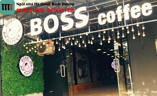 Thi cong quan cafe cuc dep tai Binh Duong