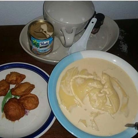 NGLatest dearies, morning breakfast for my blog readers