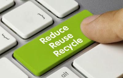 Reduce, reuse, recycle - keyboard