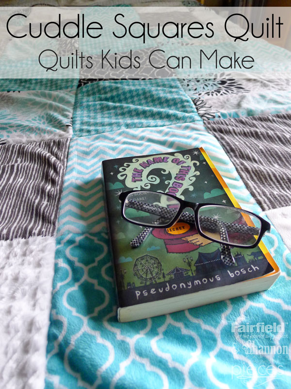 Pieces By Polly Cuddle 174 Squares Quilt Quilts Kids Can Sew