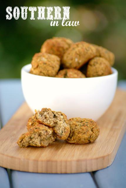 Vegan Italian Baked Lentil Bites Recipe - low fat, gluten free, vegan, healthy, grain free, low calorie, paleo, meatless meatballs, egg free, dairy free