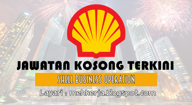 Jawatan Kosong Terkini 2016 di Shell Business Operation
