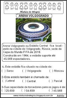 Arena Volgogrado copa mundial Rússia