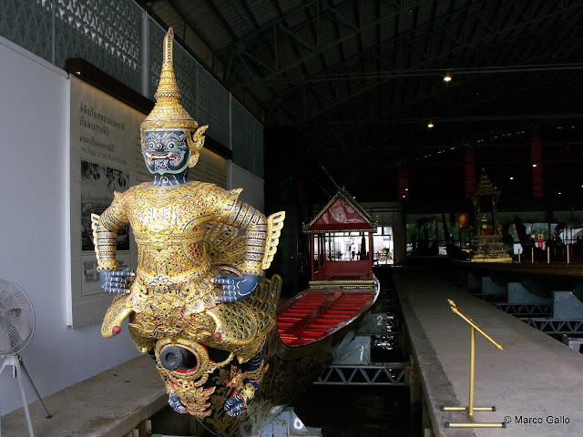MUSEO NACIONAL DE BARCAS REALES. Bangkok. Tailandia.