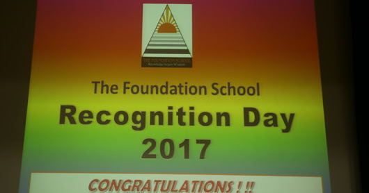 Recognition Day @ The Foundation School