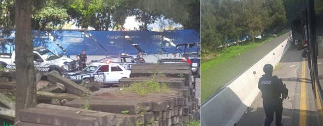 Grupo armado de sicarios desata balacera contra instalaciones de Federales en Veracruz, se dan ala fuga pero con apoyo lograron detener a 6 y les decomisan megaarsenal