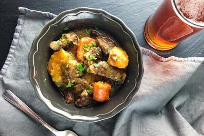 Köstliches Rindfleischeintopfgericht Rezept