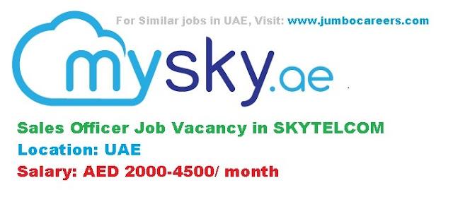 sales jobs in uae, uae telecom jobs