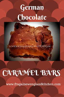 Chocolate Caramel Turtle Bars Cake Mix Bars
