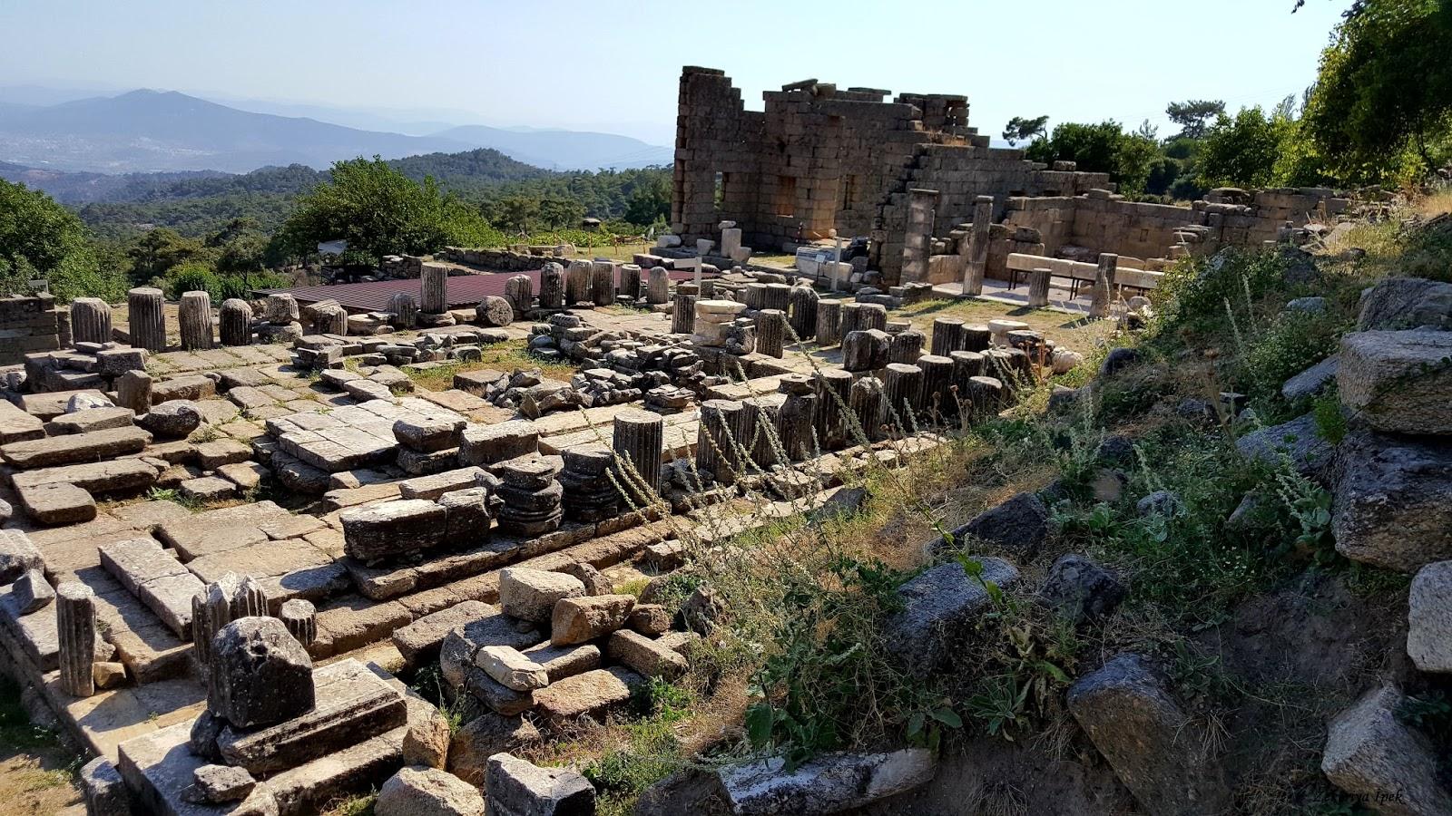 Labranda Labraynda Zeus Tapınağı Gezi Rehberi