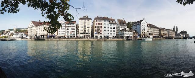Altstadt, Rio Limmat, Zurique, Suíça