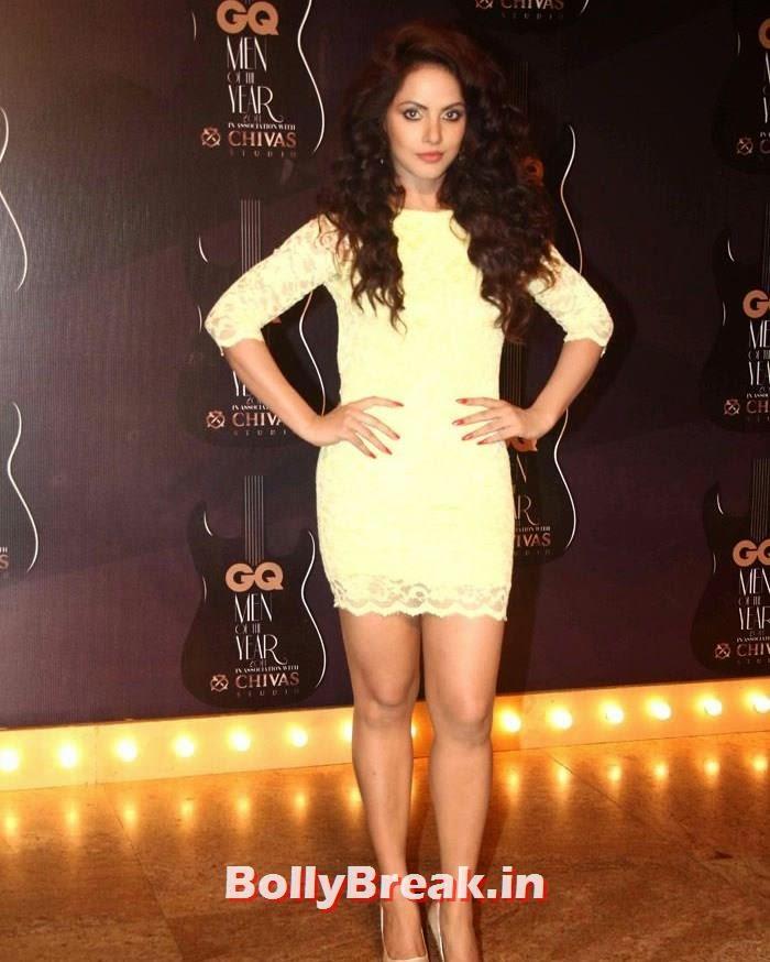 Neetu Chandra, Red Carpet Pics of GQ Men Of The Year Awards 2014