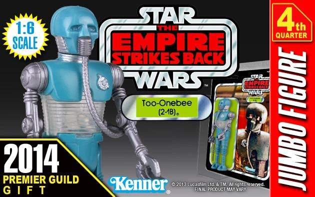 "Premier Guild Exclusive 2-1B Medical Droid 12"" Jumbo Vintage Kenner Star Wars Action Figure by Gentle Giant"