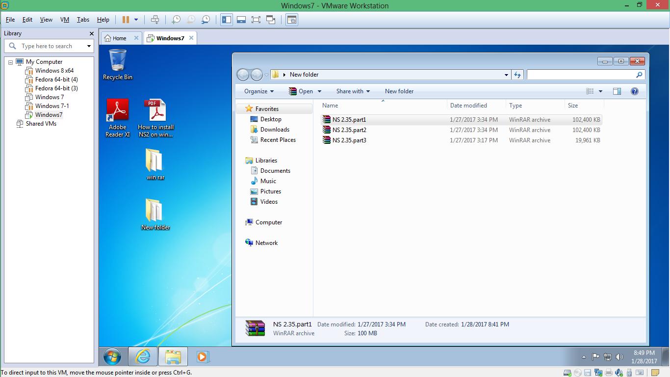 ns2 windows 7