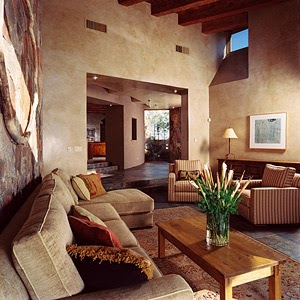 Sunny southwest interior design how to decorate a home in - How to decorate my home ...