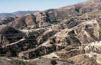 The Aliso Canyon gas storage facility above the Porter Ranch section of Los Angeles, the site of a major gas leak in 2015. (Credit: Coley Brown for The New York Times) Click to Enlarge.