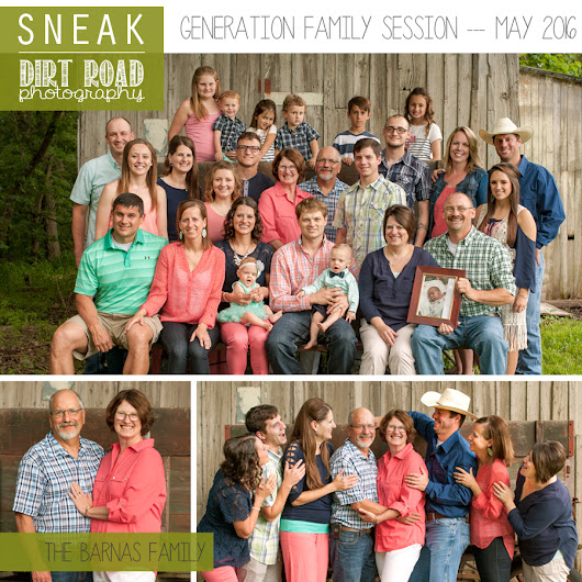 Generation Family Session // The Barnas' // Nebraska Photographer