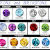Birthstones II: Discover Your Birthstone Color By Month