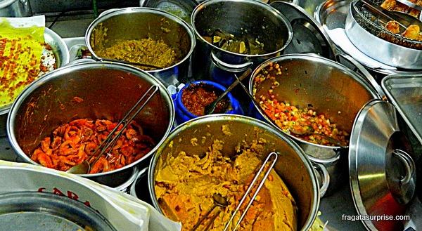 Tabuleiro da baiana, comidas típicas de Salvador