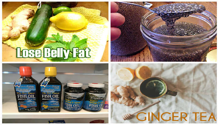 home remedies for lose belly fat