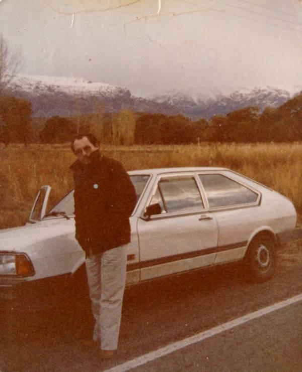 Pastor Cesino em uma viagem missionária