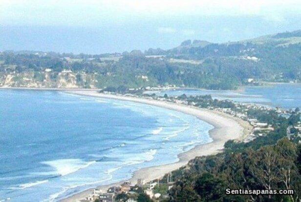 Pantai Bolinas, California